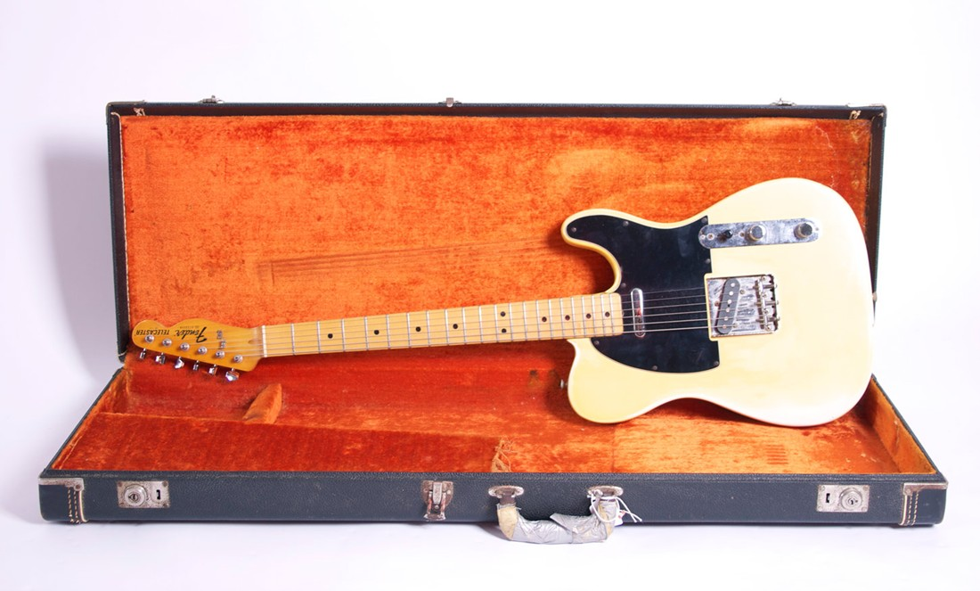 FENDER AMERICAN TELECASTER 1977 BLONDE (All Original)